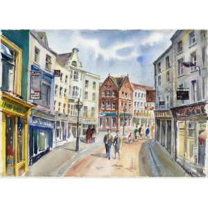 grafton street dublin ireland art